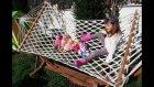 Elif Mine , Tracy , Lacy , Minik Tüm Bebişler İle Bahçede Geziyor Parkta Oynuyor.