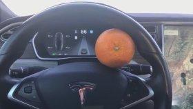 Tesla'yı Portakalla Kandıran Çılgın Sürücü