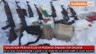 Tunceli'nde PKK'nın Ecza ve Malzeme Depoları Ele Geçirildi