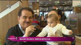 İbrahim Tatlıses'e İzmir'de Büyük Sevgi Seli