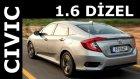 Test - Honda Civic Sedan 1.6 Dizel ( 2018 )