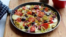 1 Patates 1 Yumurta İle 10 Dakikada Patates Pizza / Çayı Demleyin Yapmaya Başlayın - Ayşenur Altan