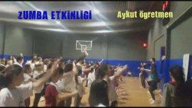 Zumba Etkinliği Zumba Öğrenci Sabah Dansı Kurtköy Mektebim Okulu Harun Şahin