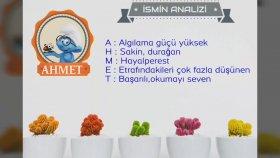 ~ Ahmet ~ İsminin Anlamı ~ ayrıntılı Analizi ~