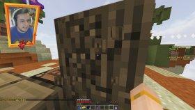 SEVGİLİMLE ŞANS ADASI - ( Minecraft SKY ISLAND )