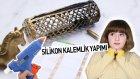 Silikon Kalemlik Yapımı | DIY HOT GLUE GUN PENCİL CASE