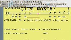 Tek Nokta Çift Nokta Finale 2011 Nota Yazım Programı Uzatma Notası Aykut Öğretmen