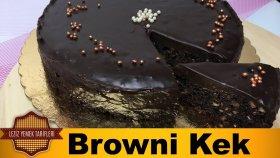 Browni Kek Tarifi ( Islak Kek ) | Çikolatalı Browni Kek Nasıl Yapılır ?