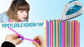 Pipetlerle 5 Kendin Yap Projesi | DIY with Straws