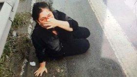 Kadın Yolcuyu Dövüp Yolun Ortasına Atan Uber Sürücüsü