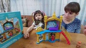 Prenses Elenanın İhtişamlı Şatosu. Toys Unboxing , Eğlenceli Çocuk Videosu Oyuncak
