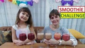 Smoothie Challenge. Yazlık Kışlık Meyveler Sebzeler. En Şanslı Kim Engüzel Smoothie Kimde
