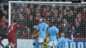 Sadio Mane'nin Manchester City'ye attığı kafa olü