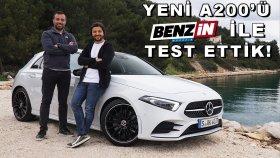 Yeni Mercedes A Serisi Test Sürüşü - Benzin TV Burak Ertem ile test ettik !