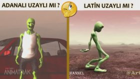 Adanalı Yeşil Uzaylı vs Latin Yeşil Uzaylı Yeni T