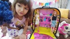 Elifin Barbieleri İçin Barbie Gardrop Çanta
