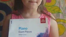 İlay Piyano ABRSM Royal Akademi İngiltere Kraliyet Müzik Okulu Dünyanın En büyük Sınav Sistemi