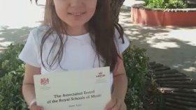 Zeynep Şahan Piyano ABRSM Royal Akademi İngiltere Kraliyet Müzik Okulu Dünyanın Sınav Sistemi