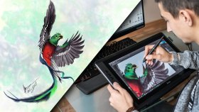 8 Saat Süren Dijital Çizim | Uc Logic Artisul D16 Detaylı İnceleme
