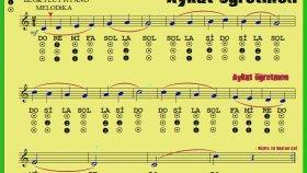 29.Etüt Nota Okuma Dersi Solfej Blok Flüt Piyano Keman Gitar Müziği Sevdirme Yolları