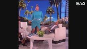 Canlı Yayında Dans Ederken Frikik Veren Jennifer Lopez