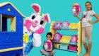 Melike Ve Eren Yaramazlık Peşinde Rabbit Man And Rainbocorns Sequin Surprise , Funny Oyuncax TV