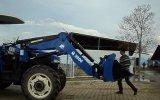 new holland portatif traktör ön yükleyici kepçe