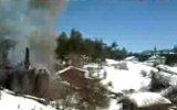 Azdavay Başören Köyündeki Yangın