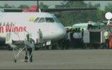 Myanmarda Yolcu Uçağı Pirinç Tarlasına İndi