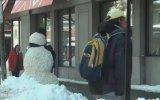 Kardan Adam Şakası Korkuttu