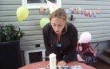 Karısına süpriz doğum günü pastası : )