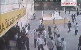 Öğrencinin düşüş anı kamerada !