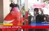 Polis Türbanlı kadını dövdü !