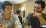 """Teen Wolf Sezon 3 : Dylan O""""Brien & Tyler Hoechlin Röportaj"""