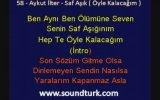 Aykut İlter - Saf Aşık ( Kareoke Lyrics Eski Defter Albümü )