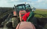 Massey Ferguson 8470 Stuck İn Mud