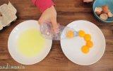 Yumurta Sarısını Ayırmanın En Kolay ve En Hızlı Yolu