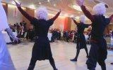 Kabardey Çerkes Düğününde Kafkas Dans Ekibi
