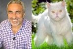 Adnan Aybaba'dan Canlı Yayında Kedi Taklidi