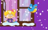 Mini Mini Bir Kuş Donmuştu - Sevimli Dostlar Çocuk Şarkıları ( Türkçe Çizgi Film )