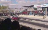 BMW E30 SUPRAN vs Citroen SAXO Turbo lastik ısıtma [ Konya Drag 2013 ] [ KmC ]