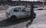 Saxo Turbo Drag Kazası - 2014 Konya Dragları [ KmC ]