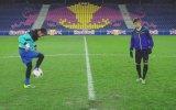 Freestyle Football Juggling Battle - Neymar Jr Vs Hachim Mastour - Reality Check view on izlesene.com tube online.