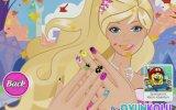 Barbie Tırnak Boyama Oyunu Nasıl Oynanır
