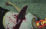 Bıçaklanan Kız Şakası Çok Korkuttu