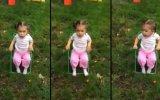 2 yaşındaki kızdan küfürlü buz banyosu