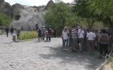 Kapadokya'ya ziyaretçi akını - NEVŞEHİR