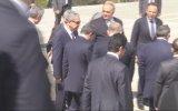 Başbakan Davutoğlu, Fazıl Küçük'ün anıt mezarını ziyaret etti - LEFKOŞA