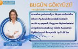 KOÇ Burcu GÜNLÜK Astroloji Yorumu18 EYLÜL 2014 Astrolog DEMET BALTACI Bilinç Okulu