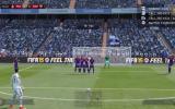 "FİFA 15 Oyununda Cristiano Ronaldo""nun Frikik Golü"